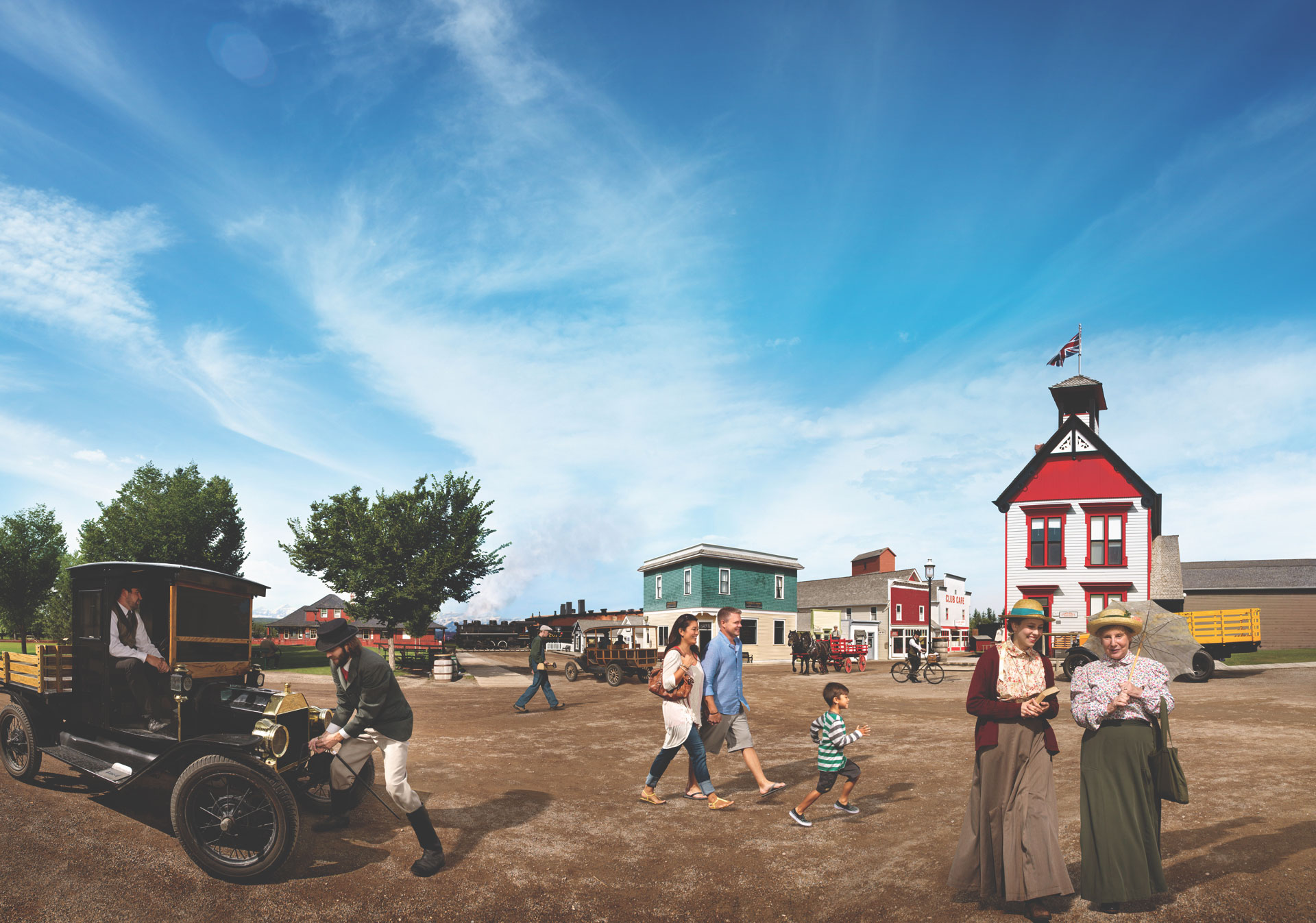 Enjoy decades of western history at Heritage Park Historical Village.