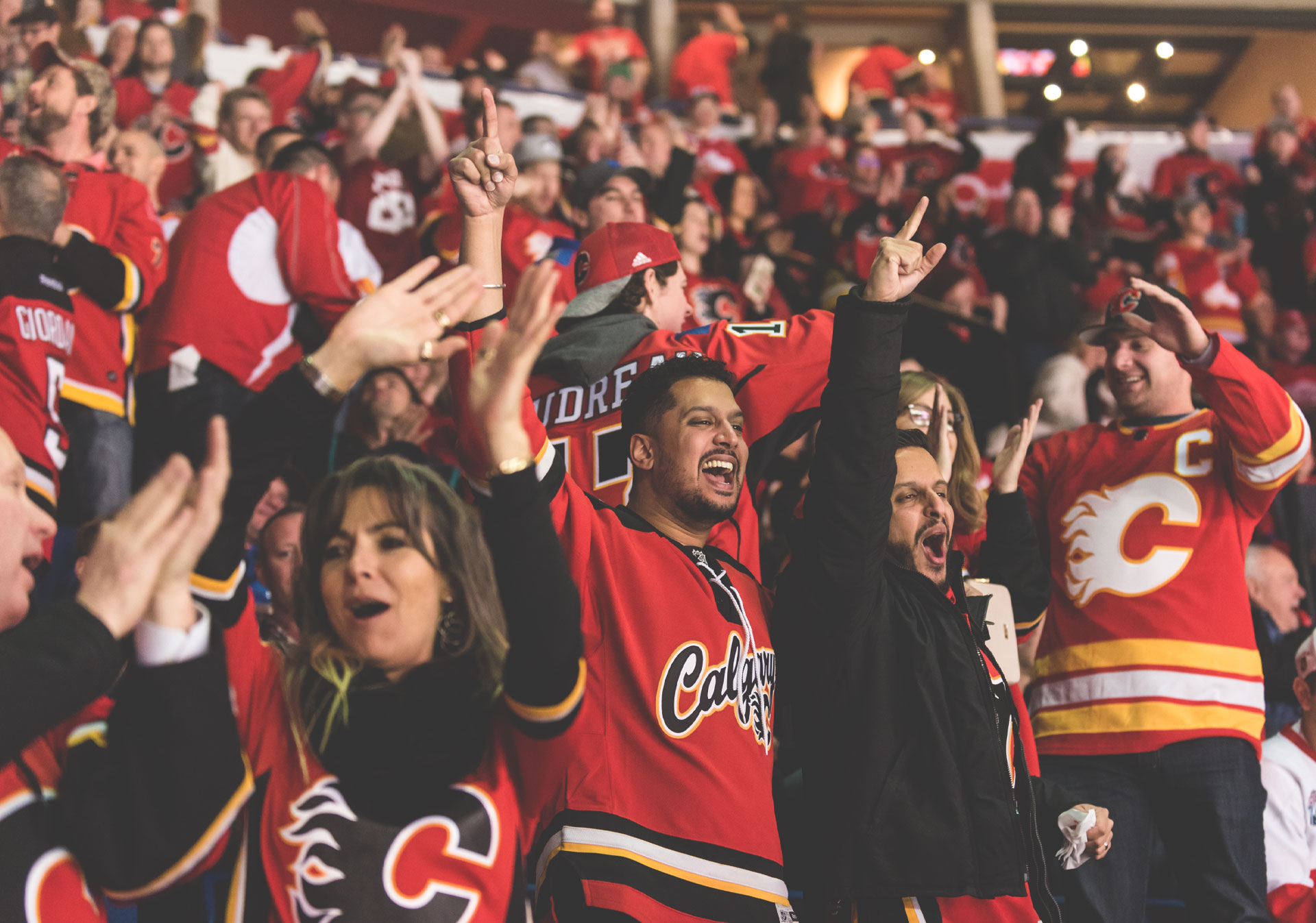Experience NHL action with the Calgary Flames.