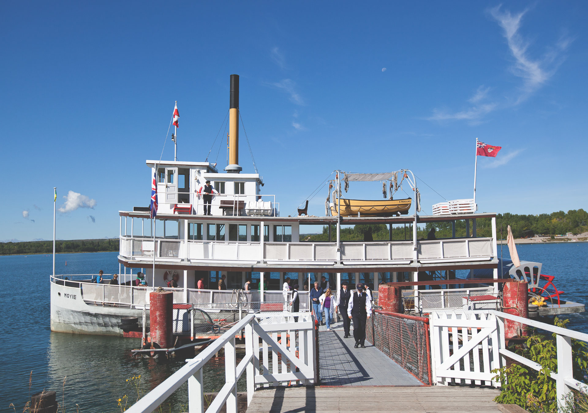 S.S. Moyie Paddlewheeler at Heritage Park