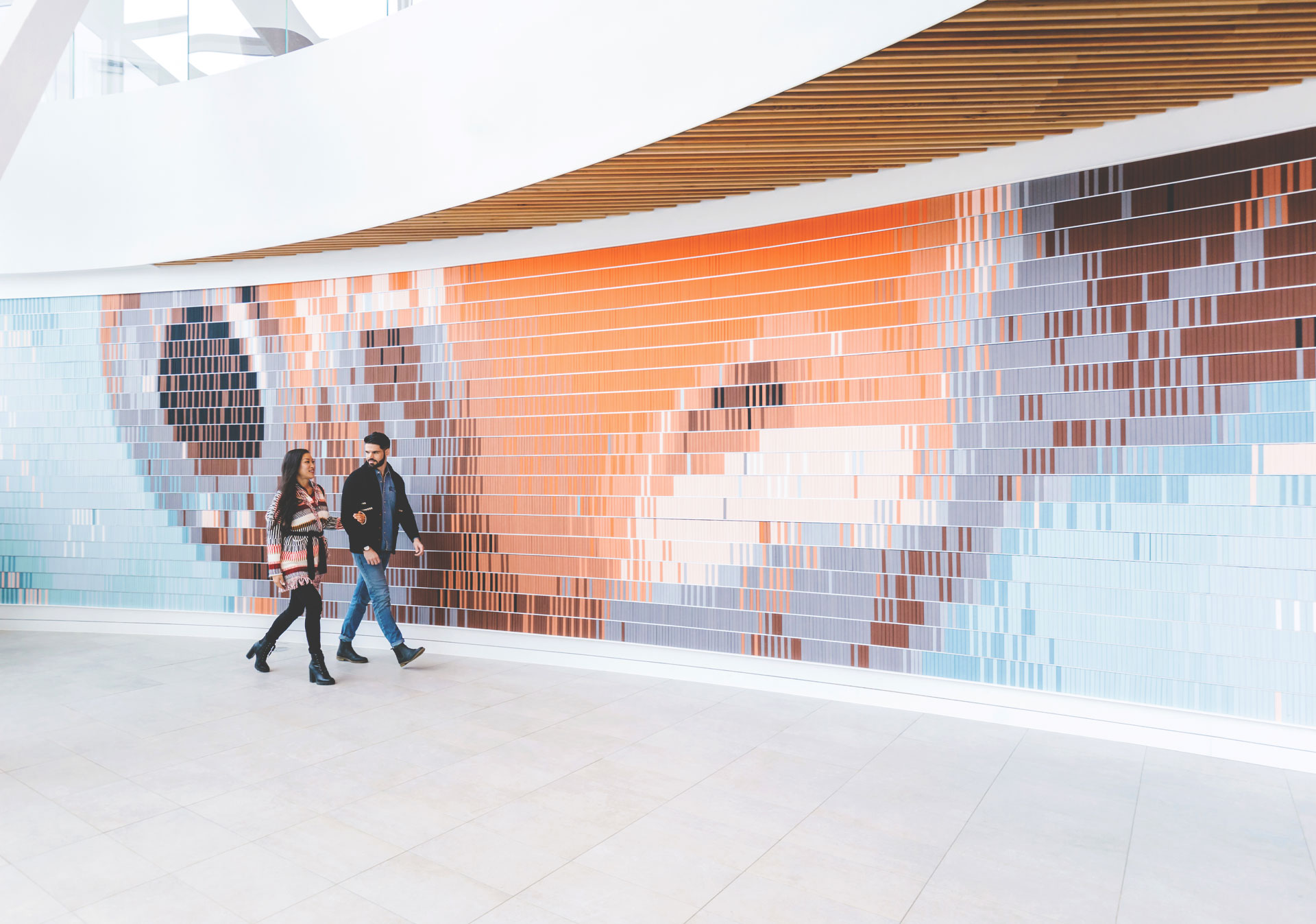 FISH (2018) at the Calgary Central Library
