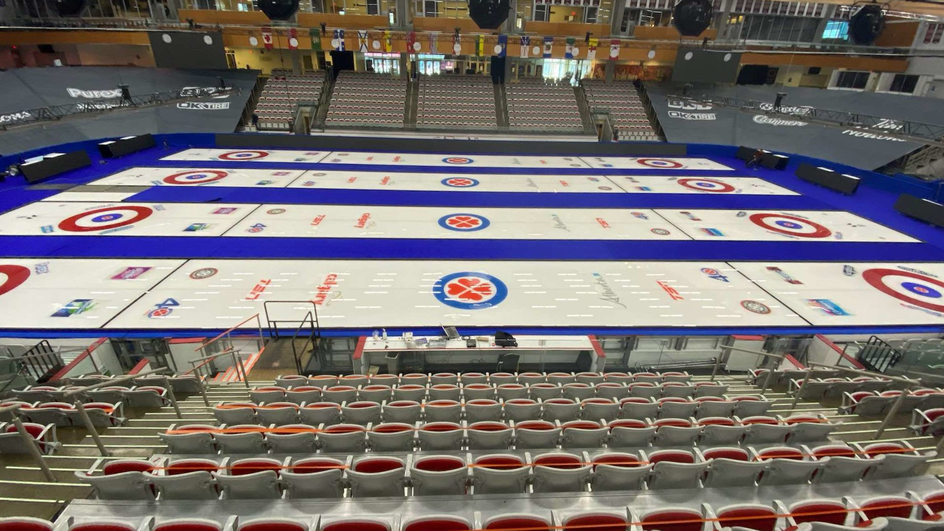 Curling Canada bubble in Calgary at WinSport