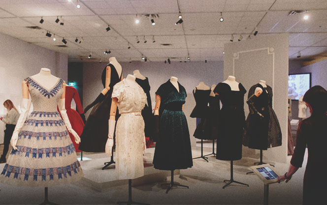 Dior Exhibit at Glenbow