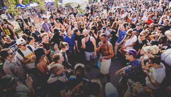 Sled Island Block Party in Calgary