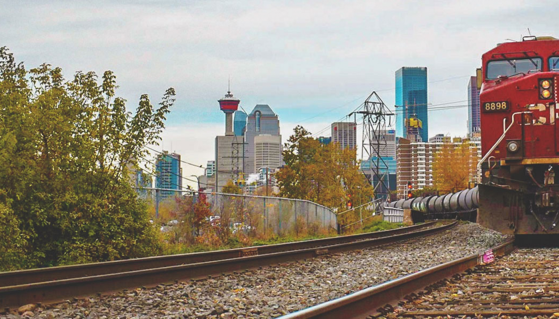 Trains in Calgary