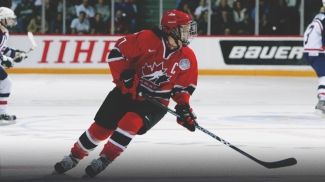 Cassie Campbell Captain of Team Canada Women's Hockey