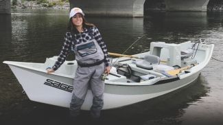 Tatum Monod Fly Fishing Calgary's Bow River