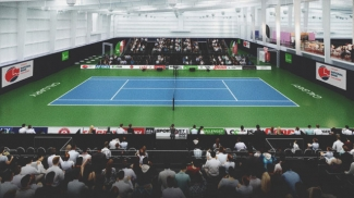 Calgary National Bank Challenger (Photo credit: OSTEN & VICTOR Alberta Tennis Centre)