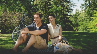 Put down a blanket and enjoy a picnic in Calgary.